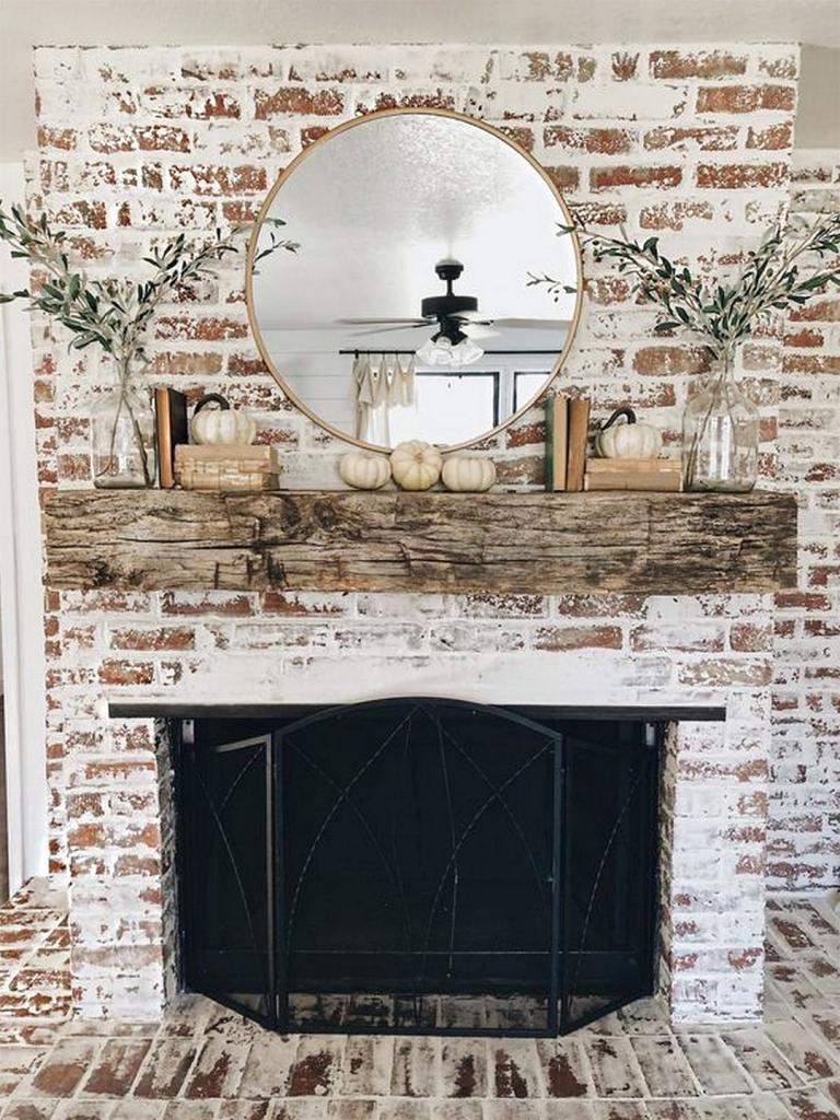 Best Modern Farmhouse Fireplace Ideas