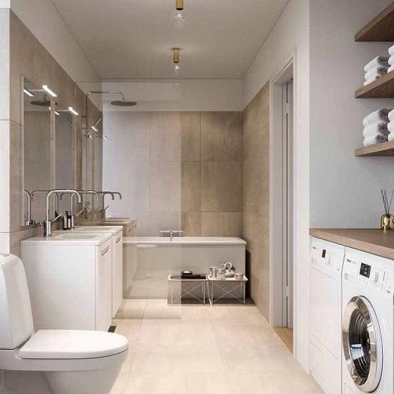 30+ Nice And Wonderful Scandinavian Laundry Room Design Ideas