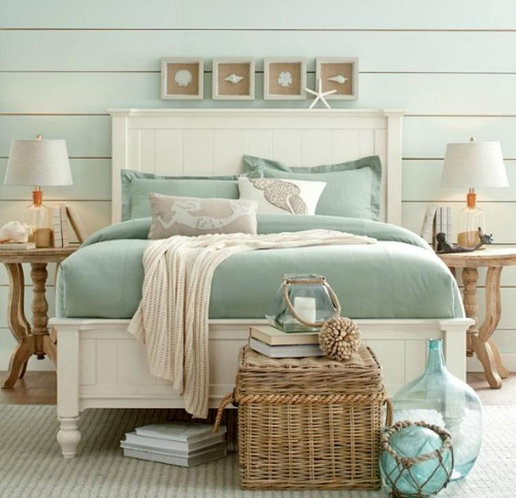 40+ Cool And Elegant Beach Themed Bedroom Decoration Ideas